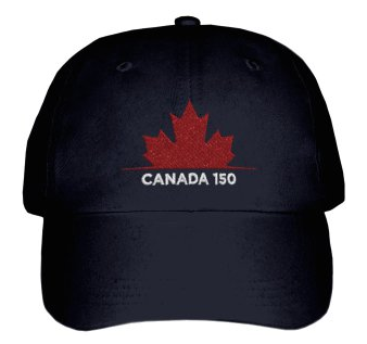 Canada 150 Maple Leaf Baseball Cap
